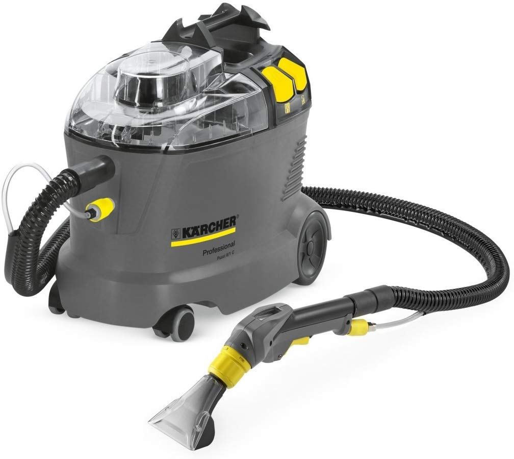 Kärcher Puzzi 8/1 C - Vacuum Cleaner - Aspirateur - 1200 WNoir, Gris, Jaune